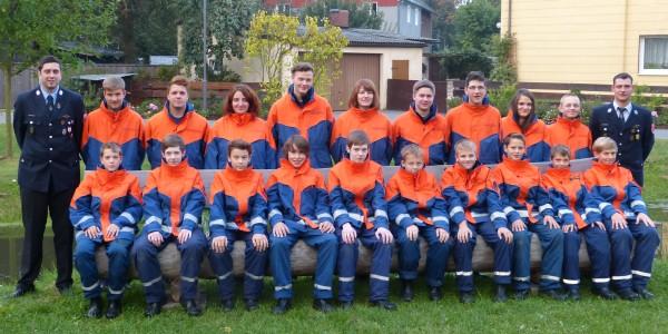 Jugendgruppe 2013