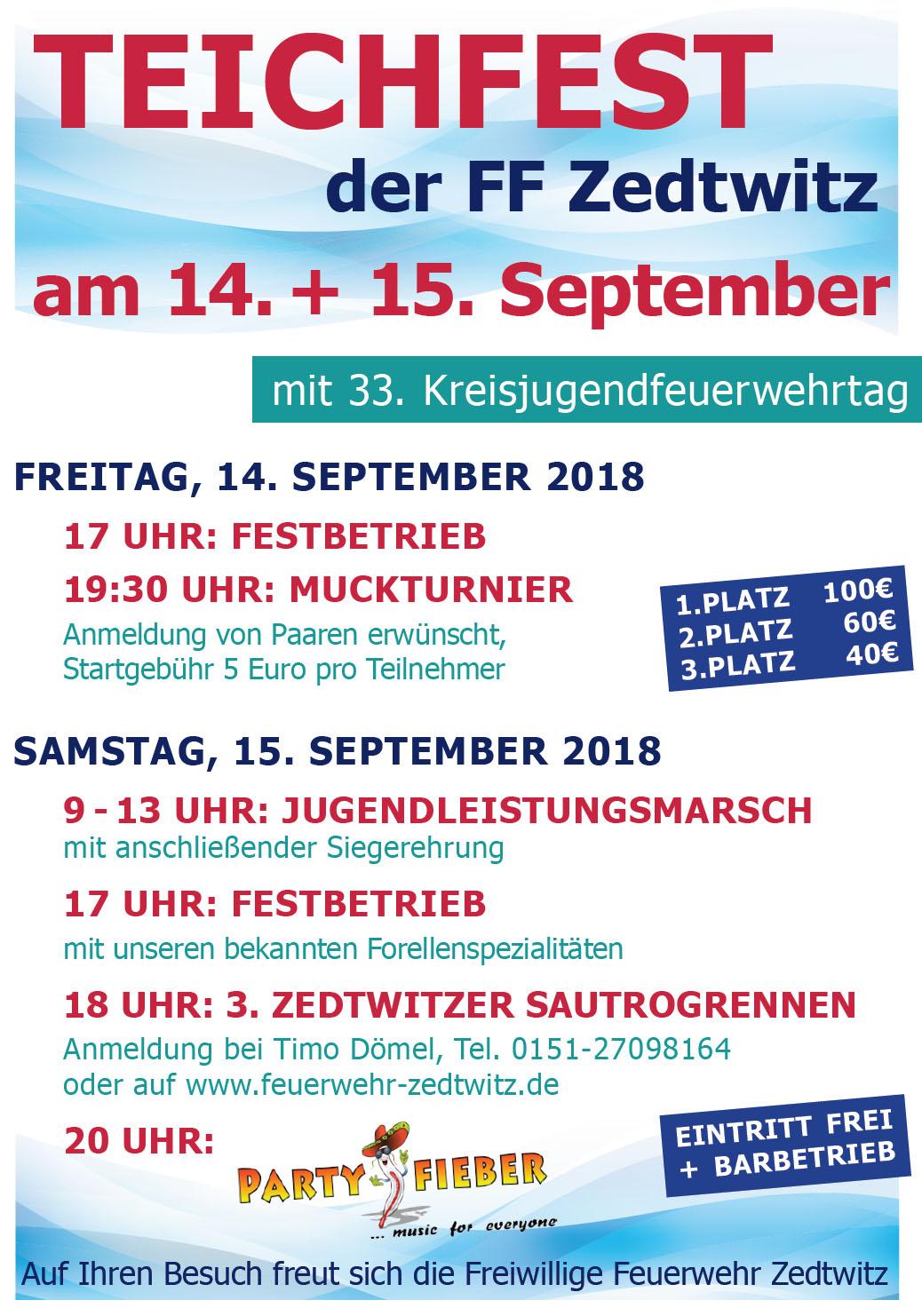 Teichfest 2018
